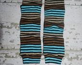 baby leggings, brown stripes, baby leg warmers, legwarmers, toddler, girl, boy, unisex, crawler covers, baby onesies, accessories, tights