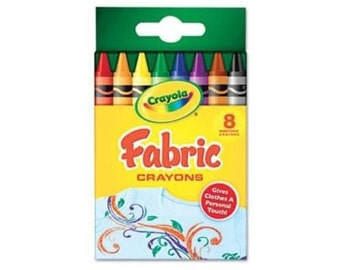Crayola Fabric Crayons 8 ct
