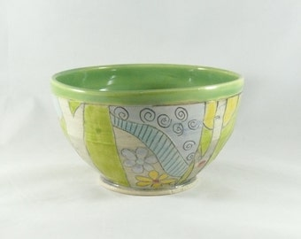 Ceramic Bowl. Salad Bowl, Soup Bowl, Cereal Bowl, Key Bowl ceramic dinnerware - Kitchen serving bowl Dish  432