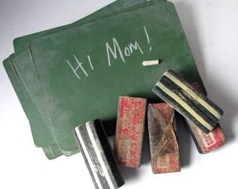 Chalkboard - Green - Felt Eraser - Wedding Decor - Home Decor - Kids Room