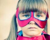Custom Little Hero Cape for Super Michelle