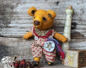 Patterson, Little Hand Painted Yellow Bear