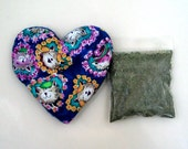 Catnip Valentine Heart Toy with Catnip Refillable Cats Hearts Flowers