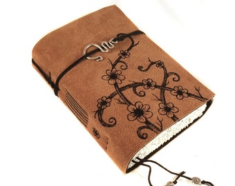 Journal, Leather, Diary, Notebook, Overgrown