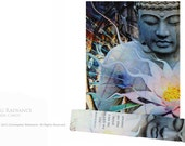 Living Radiance - Buddha & Lotus Journal - Made From Recycled Paper by Christopher Beikmann