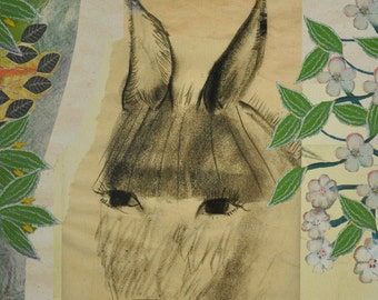 Archival print of Donkey Ears in the Wind