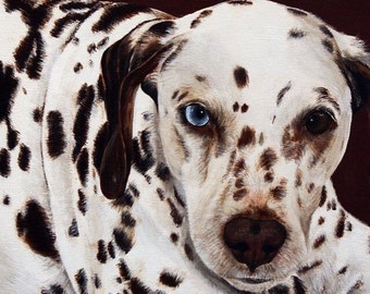 Custom Pet Portrait Pet Painting 10 x 10 Hand Painted Animal Art Dog Cat Horse Artist Hand Painted Art Sharon Lamb