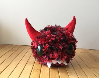 Hazga - A Baby Amigurumi Monster Doll