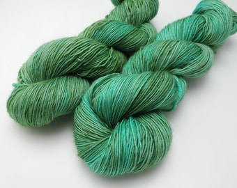 Patina Hand Dyed Yarn (Dyed to Order) - Available on a variety of bases including sock yarn, fingering weight yarn, worsted