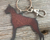 Boxer Key Ring ~ Dog Keychain ~ Pet Key Chain ~ Can be Customized
