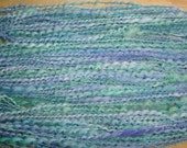 Fairy Wings Handspun Merino Wensleydale Yarn 73 yds 3 oz Art Yarn