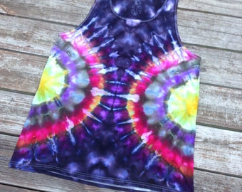 Size large tie dye tank top