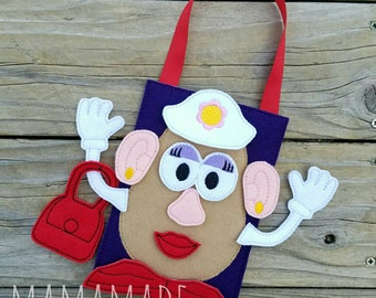 Potato Busy Bag - Quiet Play, On the Go Fun, Road Trips and more!