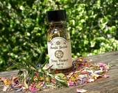 Green Witchery Spell Oil - Faerie Sight, Hedgecraft, Garden Blessing, Earth Magick, Growth, Wisdom, Working with Plant Spirits, Pagan, Wicca