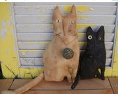 Hello Summer Sale Primitive Cats Millie N Tuck Set