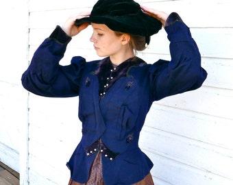 Edwardian Wool Walking Jacket XS