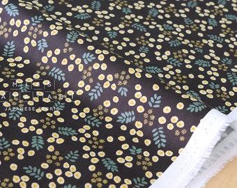 Japanese Fabric Kokka Muddy Works Tomotake - Mimosa - C - 50cm