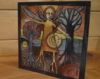 Winter Incantation - greetings card
