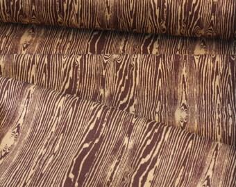 Joel Dewberry FABRIC - Aviary 2 - Woodgrain - Bark