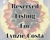 Listing for Lynzie Costa ONLY