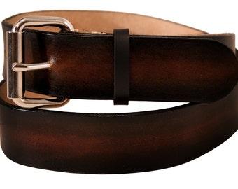 Colorburst Leather Belt