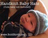 Knit Baby Hat - Custom Kn...