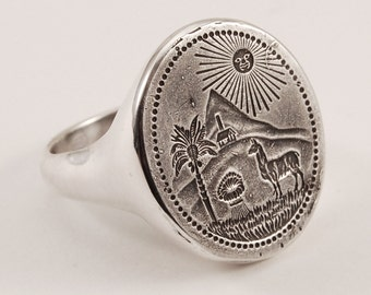 Bolivia Ring - silver