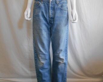 90s Levis 501 jeans, Levis Waist W 32