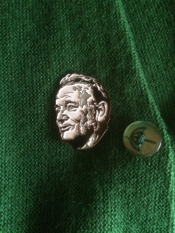 Bill Murray enamel pin zine combo