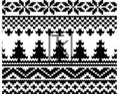 Winter Sweater 3  Clear Stamp Large