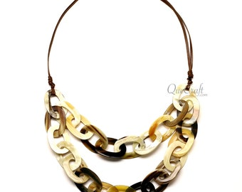 Horn Chain Necklace - Q12616