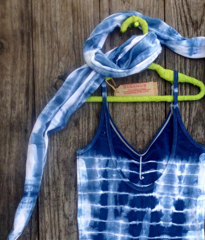 unitard scarf shibori bodysuit dance wear tie dye batik. Black Bedroom Furniture Sets. Home Design Ideas