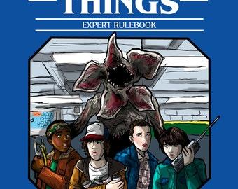 Stranger Things: Expert Rulebook Print