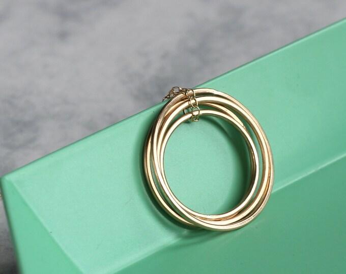 Quatre Necklace - Gold Fill