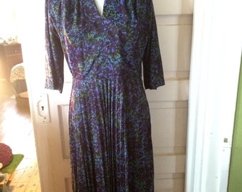 Vintage 1950's womens MarcEl of miami dress. Size M