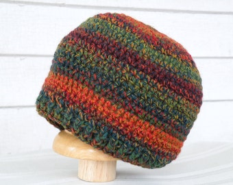 On Sale Multicolor Fall Colors Winter Baby Beanie