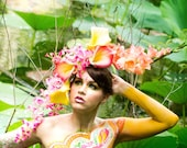 Spring Flower Headdress