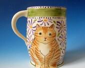 Orange Tabby & Grey Tabby Mug