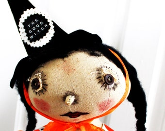 The Good Witch Halloween Doll