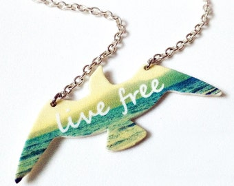 Seagull Live Free Necklace