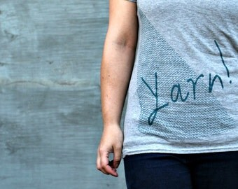 Yarn! V-Neck T-Shirt