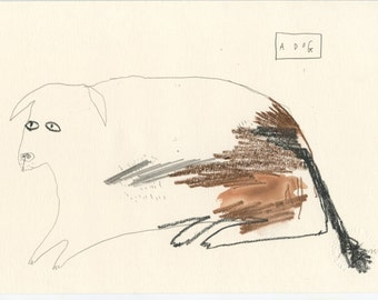 Original Illustration - A DOG