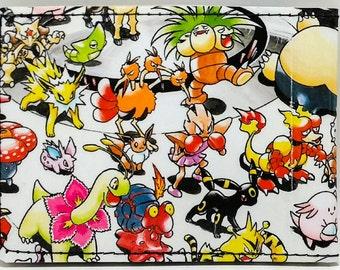 Sewn Comic Book Wallet - Pokemon Book