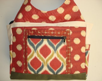 Large Carryall Tote Bag-BOMBAY