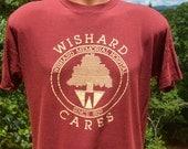 vintage 80s t-shirt WISHARD hospital indianapolis soft thin tee Medium Large