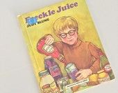1971 Freckle Juice by Judy Blume Weekly Reader Book