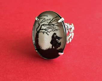 Sale 20% Off // WUTHERING HEIGHTS Ring - Silhouette Jewelry // Coupon Code SALE20