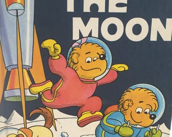 The Berenstain Bears On the Moon Childrens book