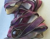 Handmade Silk Ribbon for Wrap Bracelets