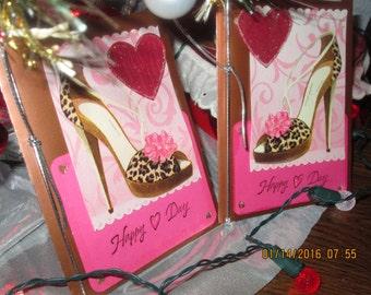 Happy Heart Day High Heels